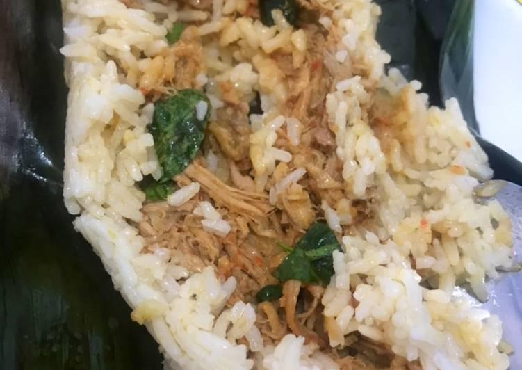 Cara Mudah memasak Nasi bakar ala resto