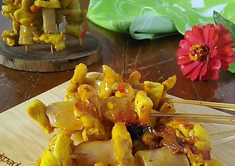 Sate Padang (Ayam Sosis)