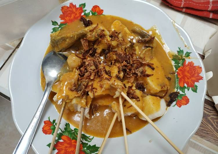 Sate padang home made