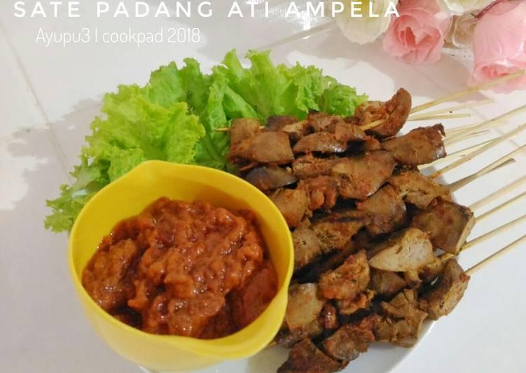 Resep memasak Sate padang ati ampela lezat