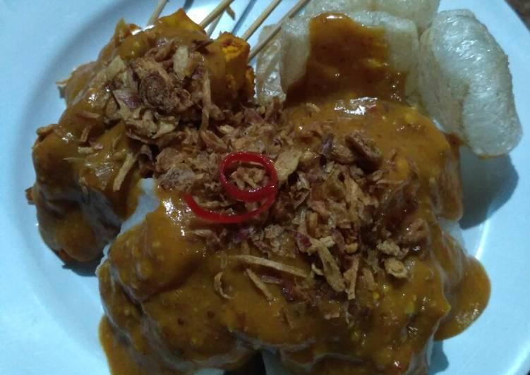 Sate Ayam Kuah Sate Padang #SelasaBisa