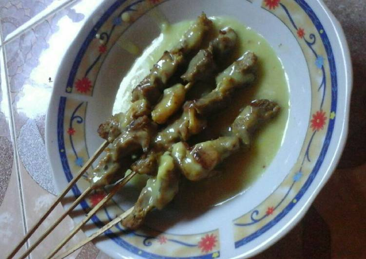 Resep memasak Sate padang #kitaberbagi yang menggugah selera