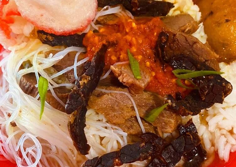 Cara Mudah memasak Soto Padang Asli yang menggoyang lidah