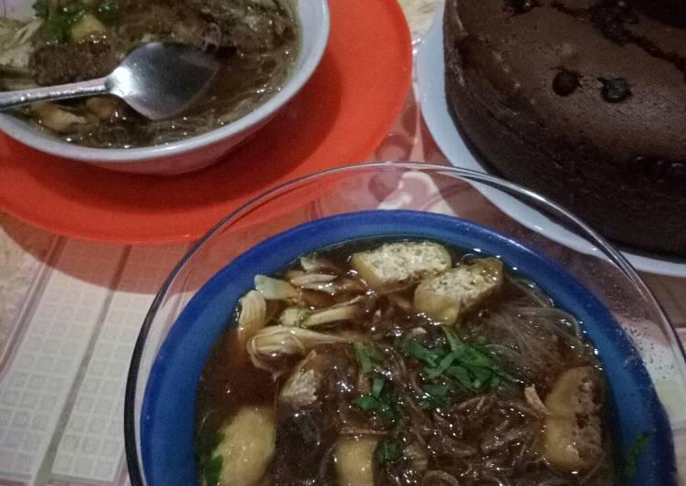 Cara Mudah memasak Kuah soto padang 1 kg mie ala resto