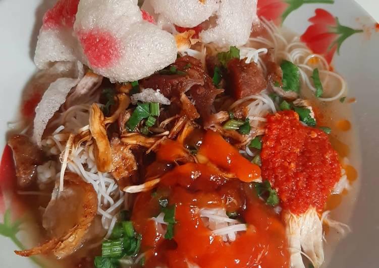 Resep: Soto Padang (ayam+daging) enak