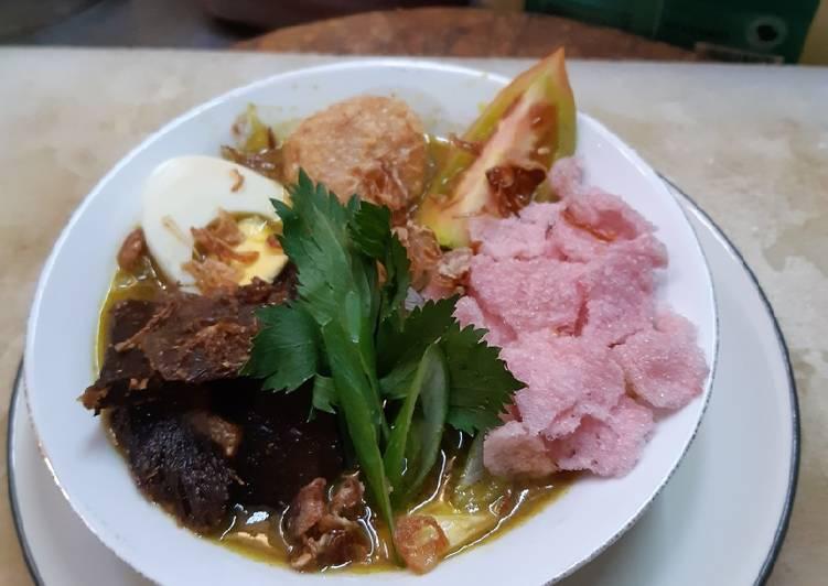 Resep memasak Soto padang (kuning) istimewa