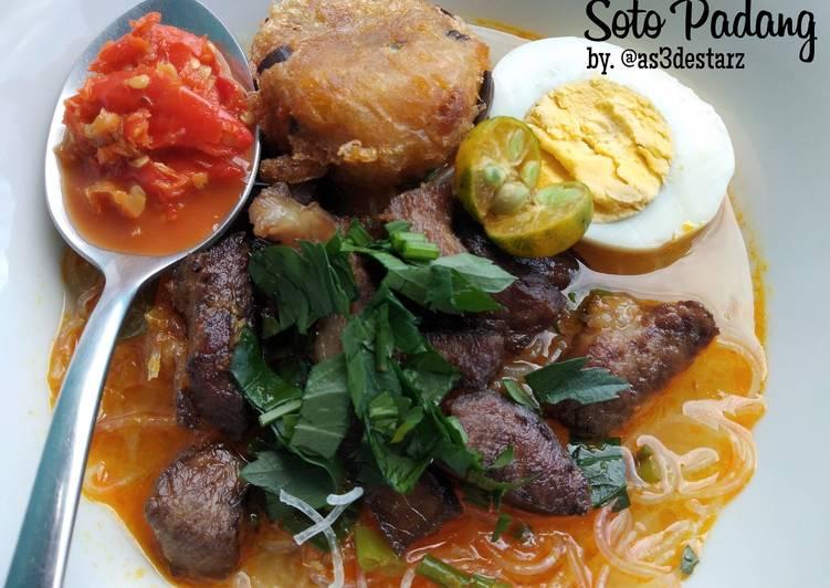 Cara Mudah memasak Soto Padang yang menggugah selera
