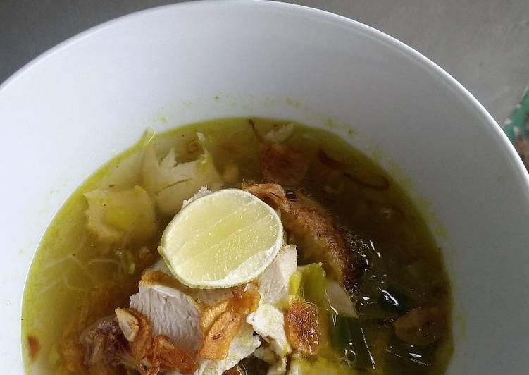 Resep: Soto padang daging ayam lamaak banaaa sedap