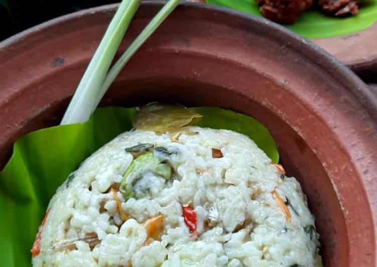 Resep: Nasi liwet sunda gurih full rempah, Magic com istimewa
