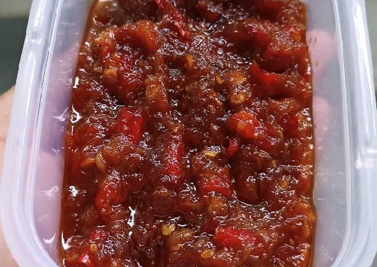Resep memasak Sambal Terasi (untuk rawon) lezat
