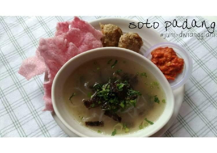 Soto Padang (#pr_homemadestreetfood)