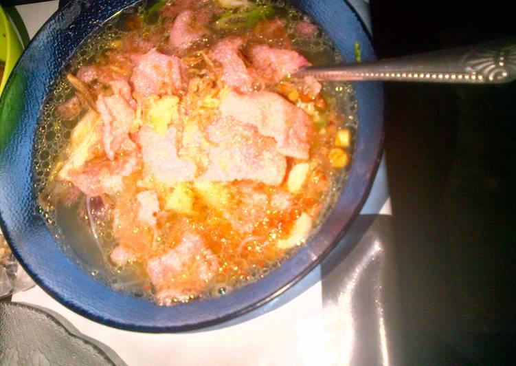 Resep: Soto padang daging ayam ala resto