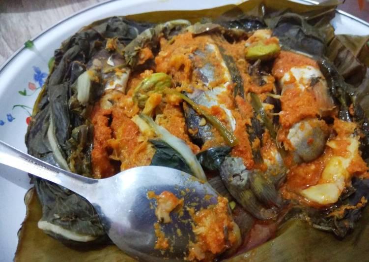 Pepes Tempoyak Ikan Baung