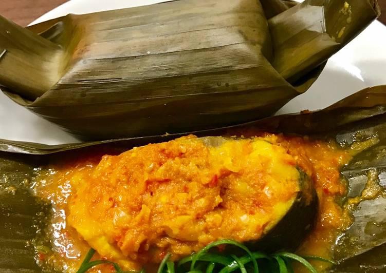 Cara mengolah •Pepes Tempoyak Ikan Bandeng• by Dapur Itha yang menggugah selera