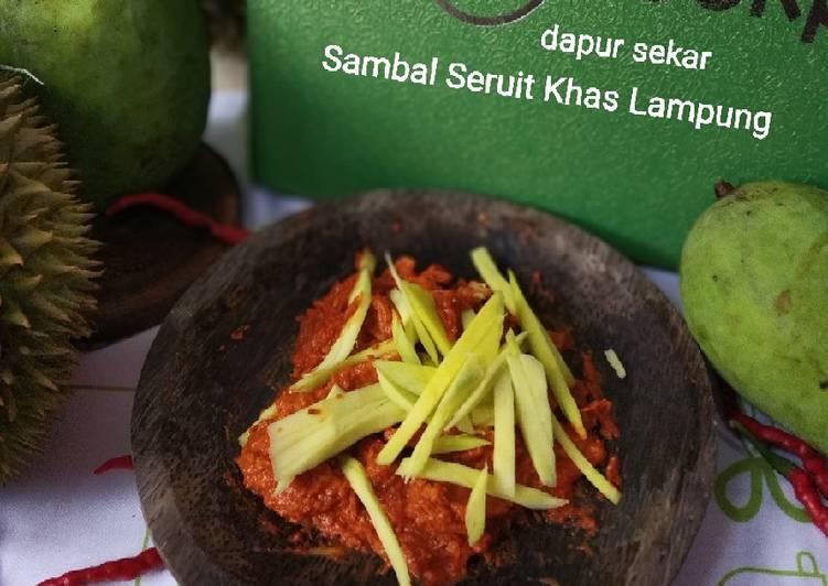 Sambal Seruit Khas Lampung
