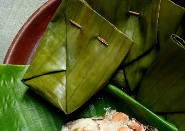 Cara Mudah mengolah Pelas Udang (mirip pepes tapi bukan🤣) ala resto