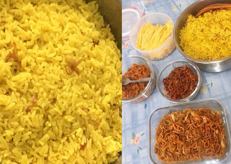 Resep: Nasi kuning harum gurih yang menggoyang lidah
