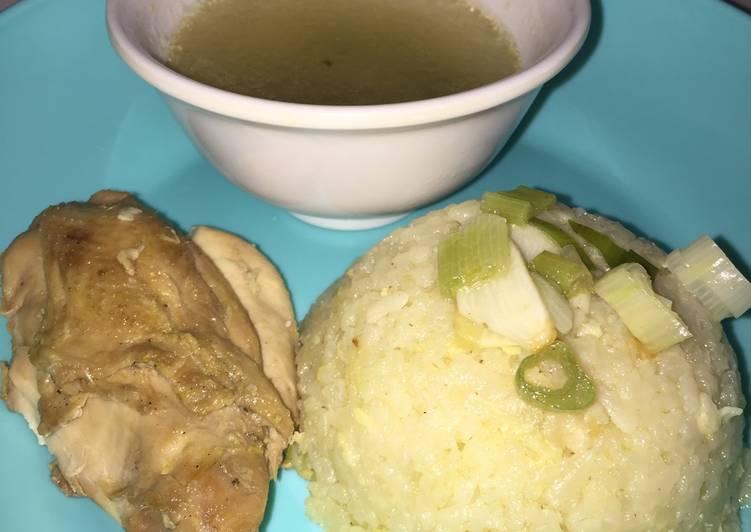 Nasi Ayam Hainam Rice Cooker