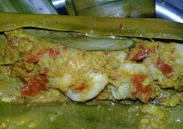 Resep: Pepes udang simple