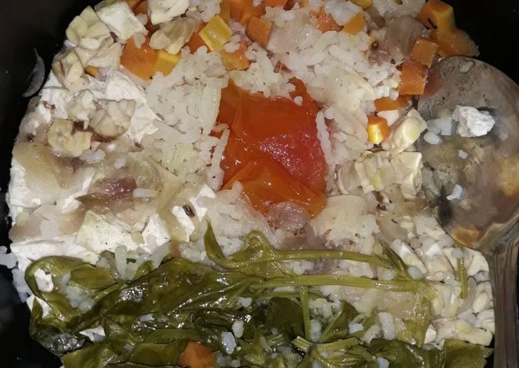 Cara Mudah membuat Nasi Gurih Rice Cooker yang menggoyang lidah