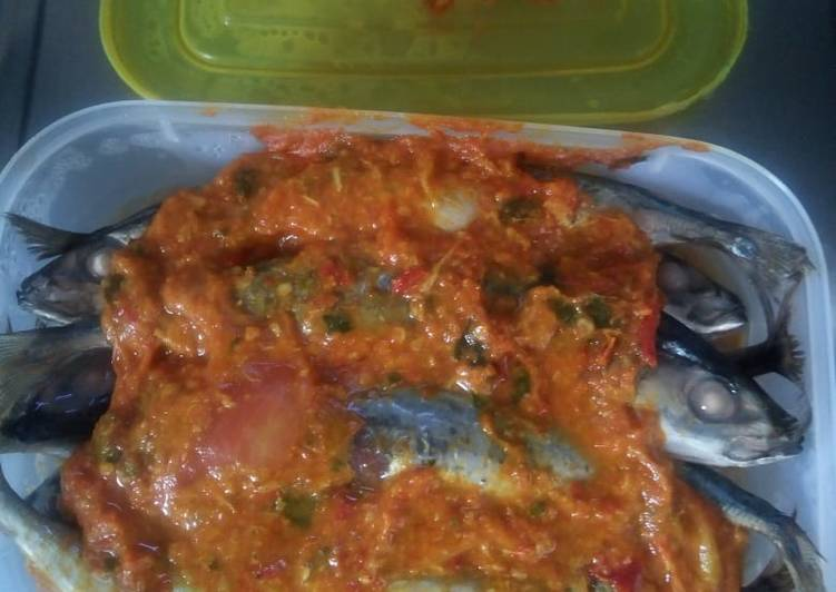 Resep: Brengkes ikan sarden