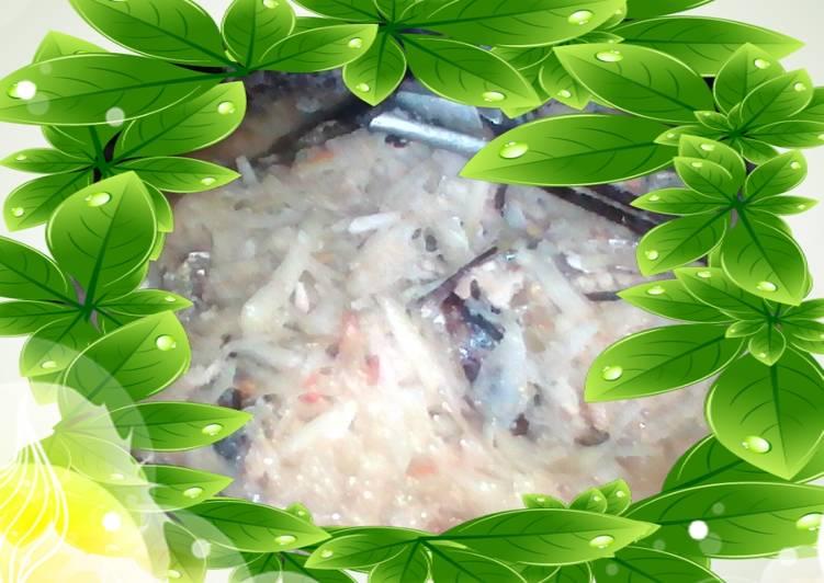 Resep membuat Brengkes mangga muda with pindang lezat