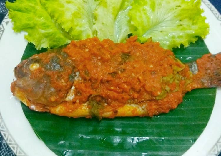Resep: Brengkes / pepes ikan mujair enak