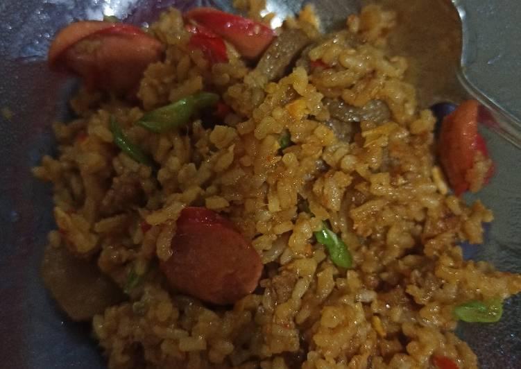 Resep membuat Nasi goreng terasi yang menggugah selera