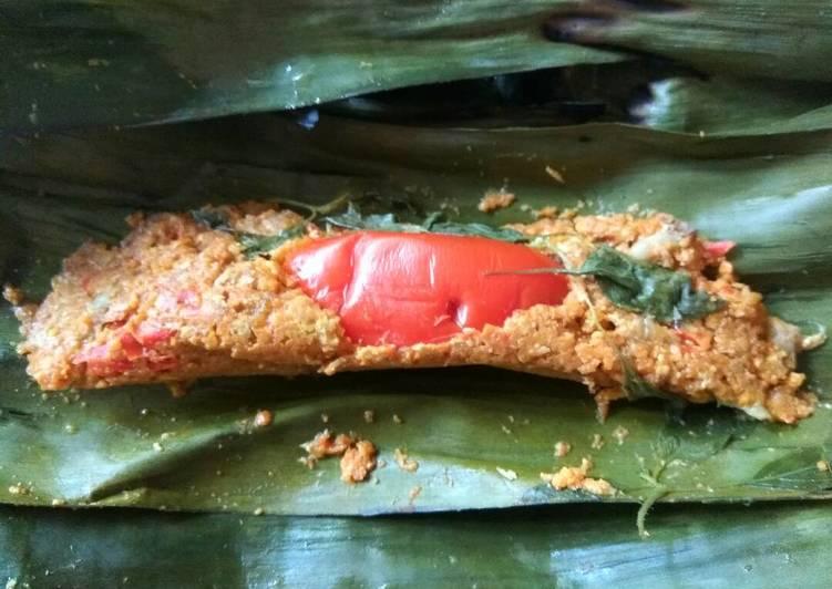Resep: Pepes / Brengkes Telur Kepiting ala resto