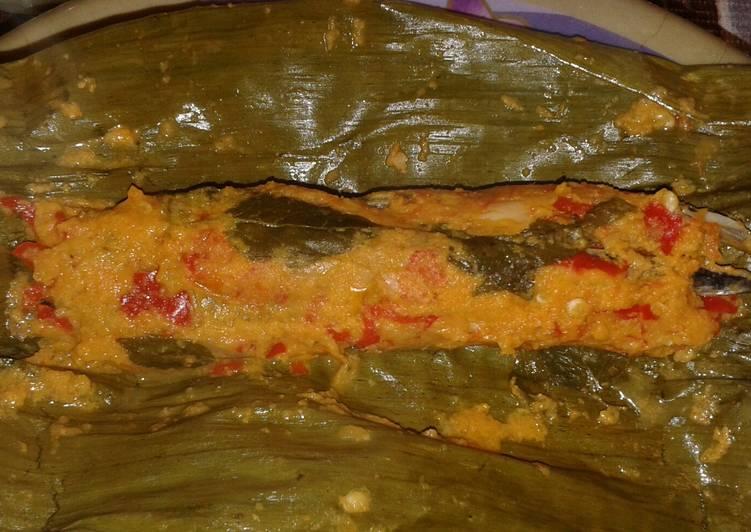 Cara memasak Recook Brengkes/pepes Tongkol ala resto