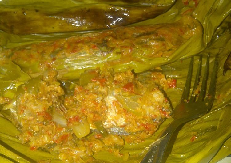 Resep memasak Pepes/brengkes ikan peda istimewa