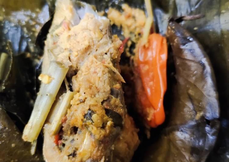 Pepes Ikan Bandeng