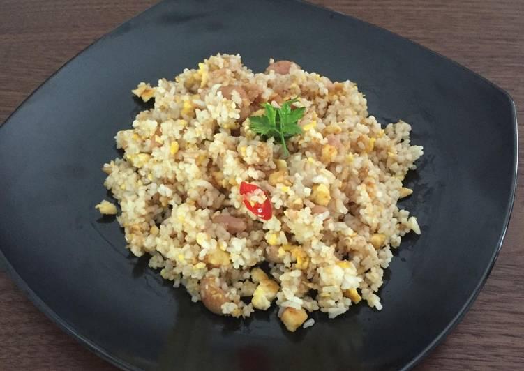 Cara memasak Nasi Goreng Gurih Simple ala resto
