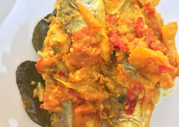 Resep membuat Pepes Ikan Tawar tanpa daun 😂