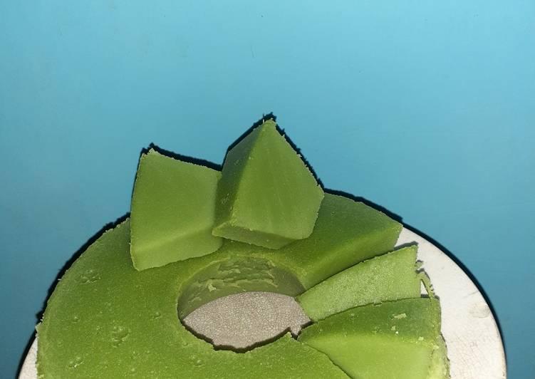 Resep: Bolu koja Palembang(simple takaran gelas) enak