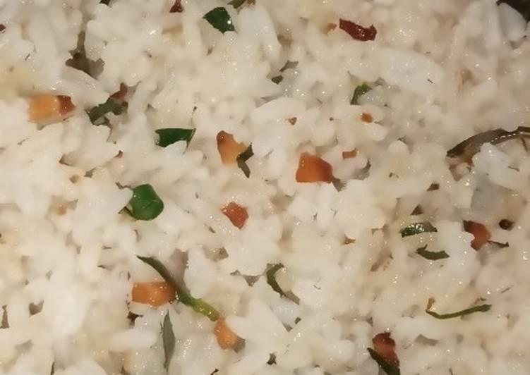 Cara memasak Nasi gurih yang bikin ketagihan