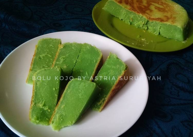 Cara Mudah memasak Bolu kojo baked with magiccom yang menggugah selera
