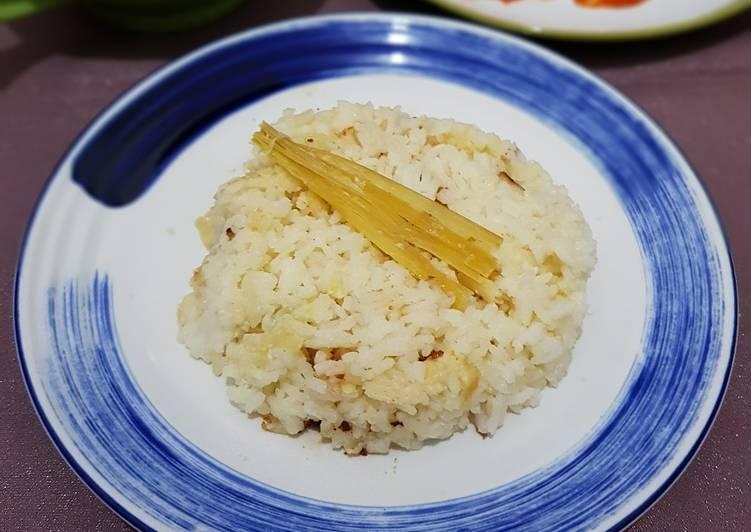 Nasi Gurih Susu Full Cream