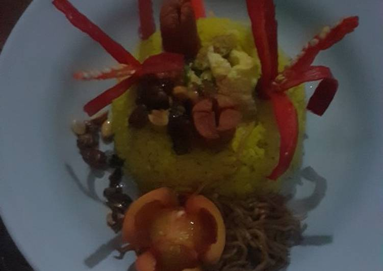 Resep: Nasi kuning ala resto