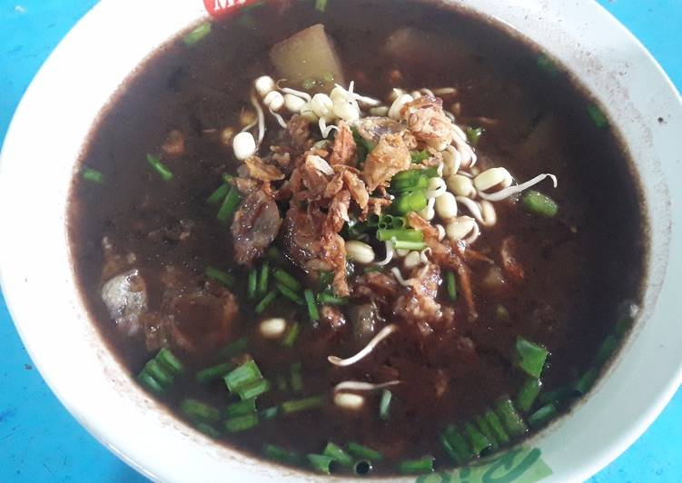 Resep: Rawon tanpa daging lezat