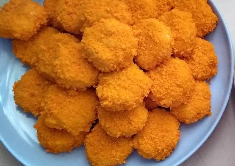 Udang Mandi Nasi (Nugget Nasi)