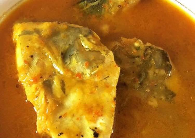 Resep membuat Gule ikan tempoyak