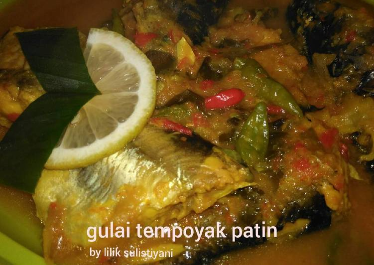 Resep memasak Gulai tempoyak patin ala resto