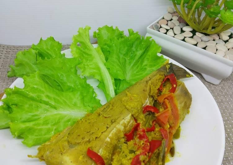 Cara memasak Pais Ikan Pipih / Belida ala resto