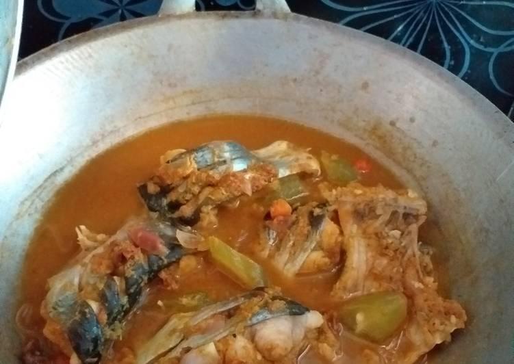Cara Mudah membuat Pais basah ikan patin (khas banjar) lezat