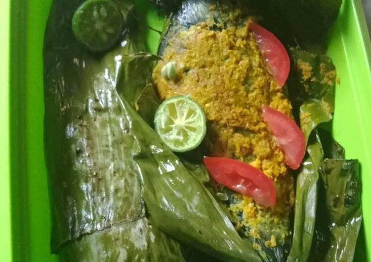 Resep: Pais ikan emas yang menggugah selera