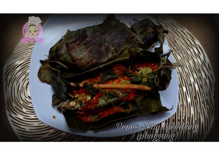 Cara mengolah Pepes Ikan Kembung (panggang) ala resto